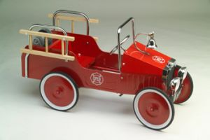 1938 Jalopy Fire Engine Pedal Car