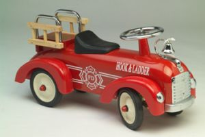 Speedster Fire Truck Scoot-A-Long