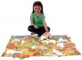 Giant Farmyard Floor Puzzle