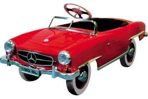 Mercedes benz sl pedal car for Mercedes benz pedal car