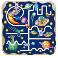 Outer Space Pathfinder Wall Panel