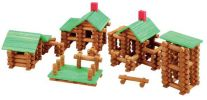 300 Piece Tumbletree Timbers Building Set